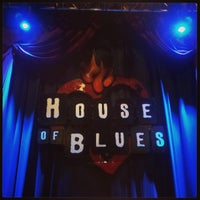 Foto tirada no(a) House of Blues por Cosmic 2. em 4/1/2013
