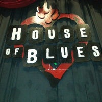 Foto tirada no(a) House of Blues por Rischard J. em 4/1/2013