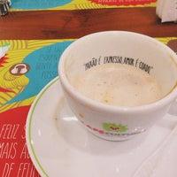 Снимок сделан в Café Cultura пользователем Julia R. 2/17/2014