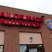 Photo taken at Tailor Made Nutrition by Todd M. on 10/19/2013 ...