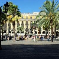 Foto tomada en Plaza Real por Ionut C. el 9/14/2012