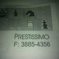 Foto scattata a Prestíssimo Pizza Bar da Adriana R. il 11/24/2012