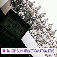 1/22/2017에 Meltem Ç.님이 Taksim Cumhuriyet Sanat Galerisi에서 찍은 사진