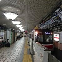 御堂筋線 心斎橋駅 2番線ホーム ...