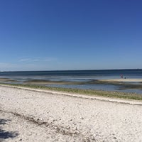 Photo Taken At Picnic Island Beach Dog Park By Adéla B On 3 4
