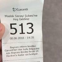 Photo prise au Garanti Bankası par SİNAN .. le6/8/2018