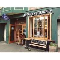 7/13/2013 tarihinde Stephanie Anne C.ziyaretçi tarafından Arizmendi Bakery'de çekilen fotoğraf