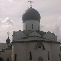 7/25/2013 tarihinde Mikhail B.ziyaretçi tarafından Marfo-Mariinsky Convent'de çekilen fotoğraf