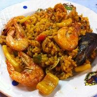 Das Foto wurde bei Restaurante Salamanca von Özgür Ö. am 10/16/2012 aufgenommen