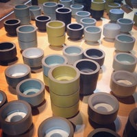 Photo prise au Heath Ceramics par Karla le11/2/2013