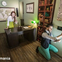 Foto tirada no(a) Questomania Escape Rooms por Ленка И. em 8/7/2015