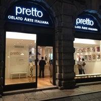 Das Foto wurde bei Pretto Gelato Arte Italiana von Daniele P. am 9/27/2012 aufgenommen