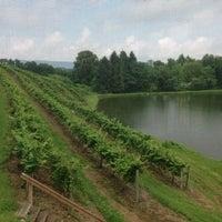 Das Foto wurde bei Blue Mountain Vineyards & Cellars von MaryAlice M. am 8/3/2013 aufgenommen