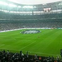4/12/2016 tarihinde Sinan M.ziyaretçi tarafından Vodafone Park'de çekilen fotoğraf
