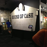 Photo taken at Johnny Cash Museum and Bongo Java Cafe by Melissa G. on 5/11/2013