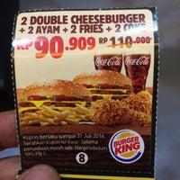 Photo prise au Burger King par Endro N. le7/13/2016
