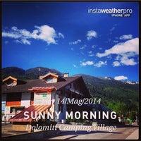 5/14/2014에 Dolomiti Camping Village &.님이 Dolomiti Camping Village & Wellness Resort에서 찍은 사진