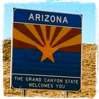 Photo taken at Arizona-Utah State Line by Kimberlee C. on 2/26/2013