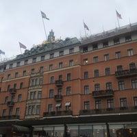 Снимок сделан в Grand Hôtel Stockholm пользователем Golubitskaya 11/18/2012
