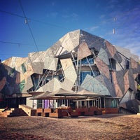 Photo taken at Federation Square by Janice L. on 5/15/2013