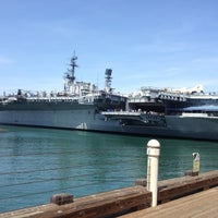 Photo taken at USS Midway Museum by Danyel B. on 3/26/2013