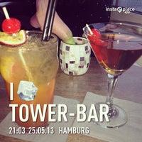 Das Foto wurde bei Tower Bar von Franziska G. am 5/26/2013 aufgenommen
