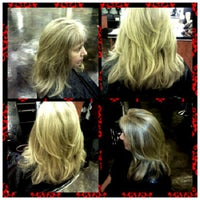 Photo taken at Manhattan Hairstyling Academy by Tierrita L. on 7/24/2012