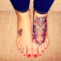 0217498f79d57 ... Photo taken at Jade Monkey Tattoo by Jessica W. on 3/30/2016 ...