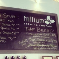 Photo prise au Trillium Brewing Company par Chad O. le4/20/2013