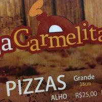 Das Foto wurde bei Pizzaria La Carmelita von Rafael S. am 5/8/2013 aufgenommen