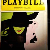 Das Foto wurde bei Gershwin Theatre von Peter S. am 10/24/2012 aufgenommen