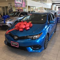 Photo Taken At Autonation Toyota Leesburg By Kathie H On 11 28 2017