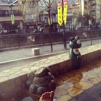 Foto scattata a 雅の足湯 da Szk a. il 1/3/2014