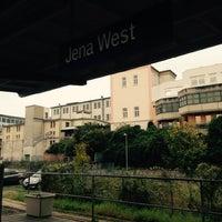 Das Foto wurde bei Bahnhof Jena West von Chris V. am 9/26/2014 aufgenommen