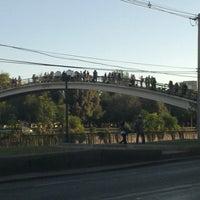2/14/2013 tarihinde Pati Cocq M.ziyaretçi tarafından Puente Peatonal Condell'de çekilen fotoğraf