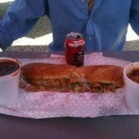 Das Foto wurde bei The Original New Orleans Po Boy and Gumbo Shop von Devin S. am 9/19/2012 aufgenommen