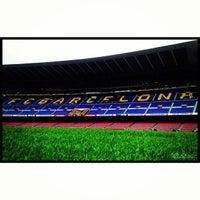 Foto tomada en Camp Nou por Aleix el 5/19/2013