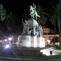 Foto tomada en Plaza 9 de Julio por Joaco D. el 5/2/2013