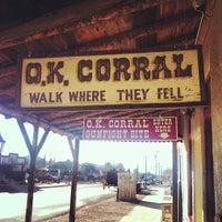 3/13/2013 tarihinde Allyson B.ziyaretçi tarafından O.K. Corral'de çekilen fotoğraf