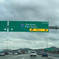 CR 91 & I-15 Freeway Interchange - Riverside Fwy