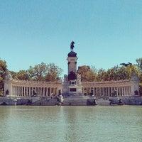 รูปภาพถ่ายที่ Parque del Retiro โดย Luis G. เมื่อ 6/3/2013