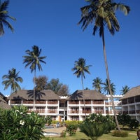 Photo taken at DoubleTree Resort by Hilton Hotel Zanzibar - Nungwi by Hakan O. on 10/29/2012