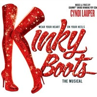Снимок сделан в Kinky Boots at the Al Hirschfeld Theatre пользователем Stanley C. 7/24/2013