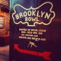Das Foto wurde bei Brooklyn Bowl von @britodiego am 5/1/2013 aufgenommen