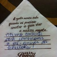 รูปภาพถ่ายที่ Grão Brasil Café โดย Camila S. เมื่อ 5/21/2013