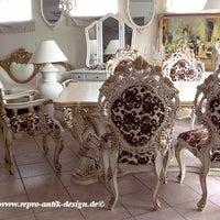 Repro Antik Design Barockmobel Mahagoni Massivholzmobel Italienische