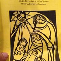 Das Foto wurde bei Lutherkirche von Sanya Z. am 12/24/2013 aufgenommen