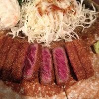 4/22/2013 tarihinde 😱ziyaretçi tarafından Gyukatsu Motomura'de çekilen fotoğraf