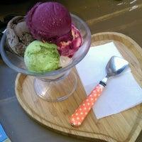 9/9/2016 tarihinde Melike O.ziyaretçi tarafından DuDu Italian Ice Cream'de çekilen fotoğraf