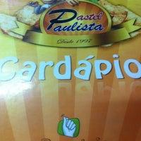 Das Foto wurde bei Pastel Paulista von (BETA) Wendrill Fabiano C. am 11/21/2012 aufgenommen